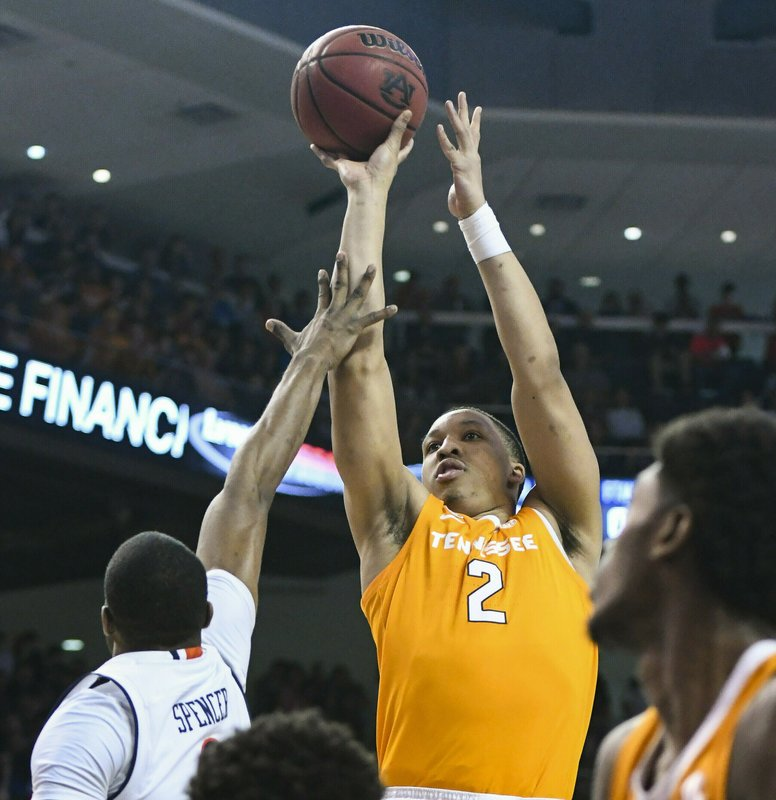 Tennessee's Grant Williams named AP SEC player of year