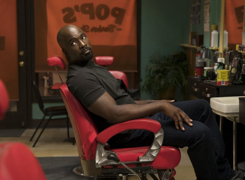 Mike Colter brings the pain as the indestructible Luke Cage
