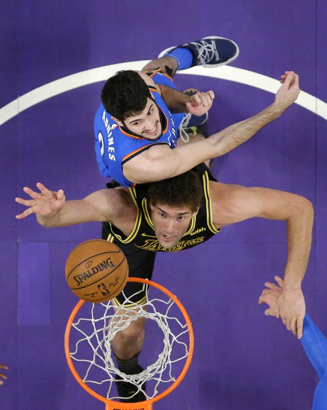 Brook Lopez, Alex Abrines