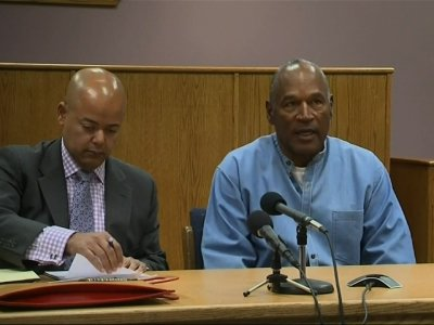 OJ Simpson Appears for Parole Hearing