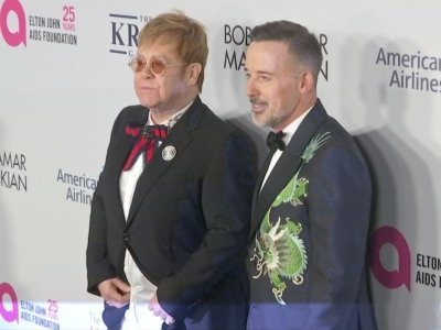 Elton John 'remaining positive' about LBGTQ rights