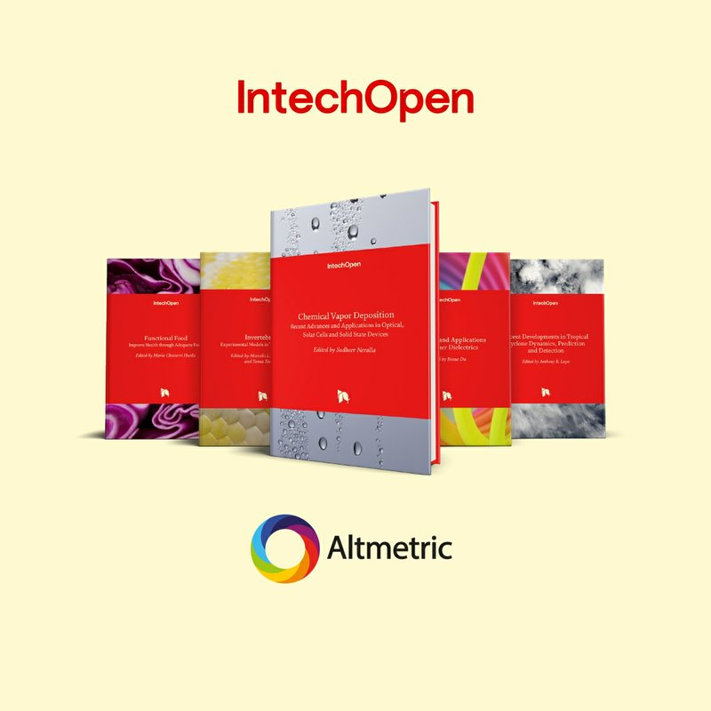 IntechOpen Implements Altmetric Badges for Books to Highlight Online Attention for Open Research