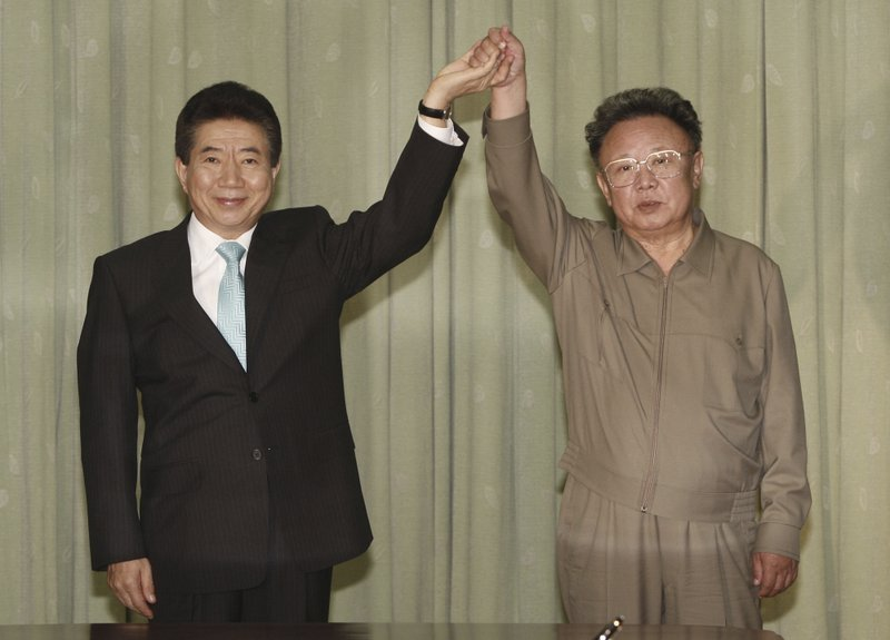 Roh Moo-hyun, Kim Jong Il