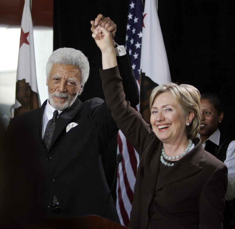 Hillary Clinton, Ron Dellums