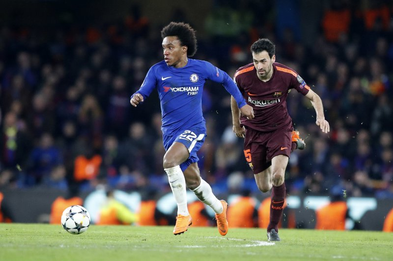 Willian, Sergio Busquets