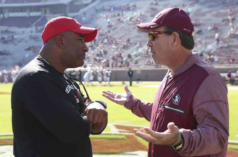 Jimbo Fisher, Kenny Carter