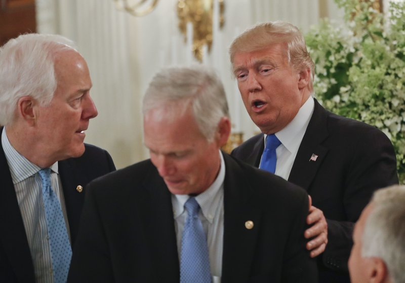 Donald Trump, John Cornyn, Ron Johnson