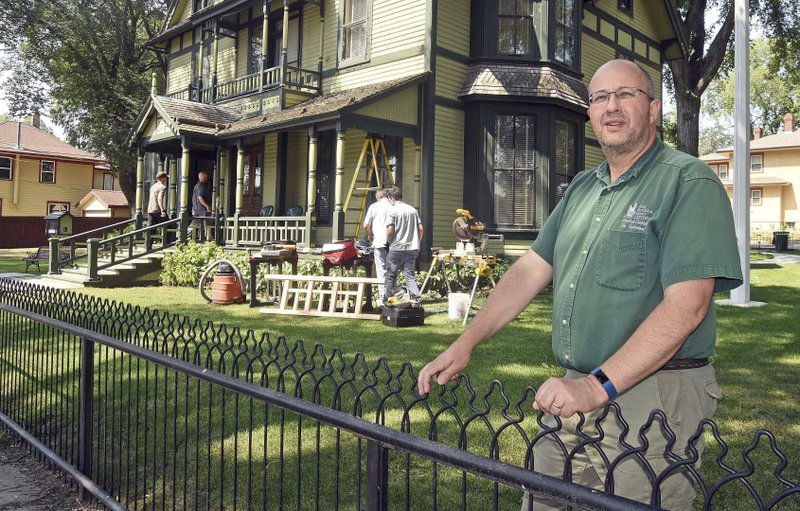 ... supervisor of the former North Dakota Governors Mansion, oversees the  renovation and care of the 134 year old victorian house near downtown  Bismarck, ...