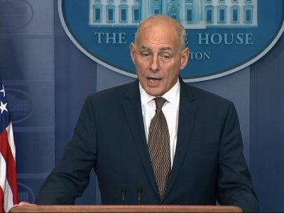 WH Chief of Staff Kelly: 'I'm Not Quitting'