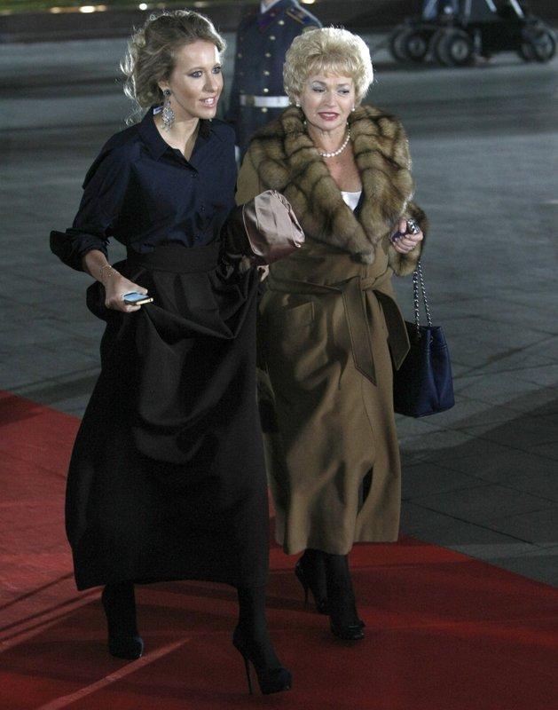 Ksenia Sobchak, Lyudmila Narusova