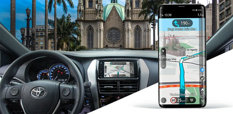 TomTom and Toyota to Offer Drivers a Navigation App that Mirrors to In-Dash Screens