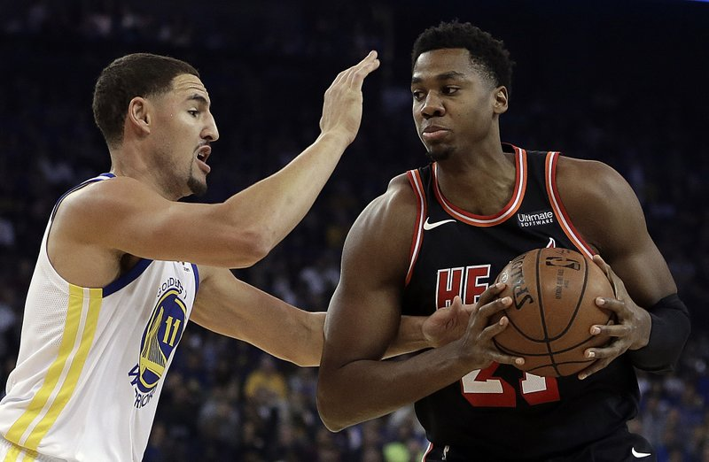 Klay Thompson, Hassan Whiteside