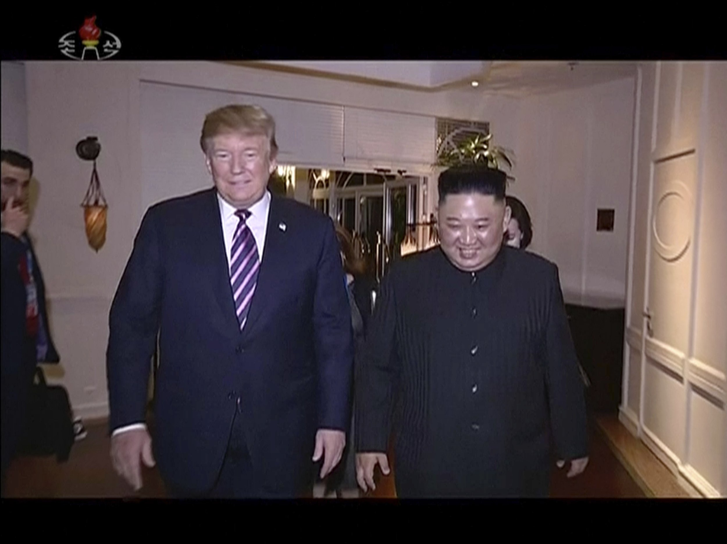 N. Korea airs documentary glorifying Kim's summit with Trump