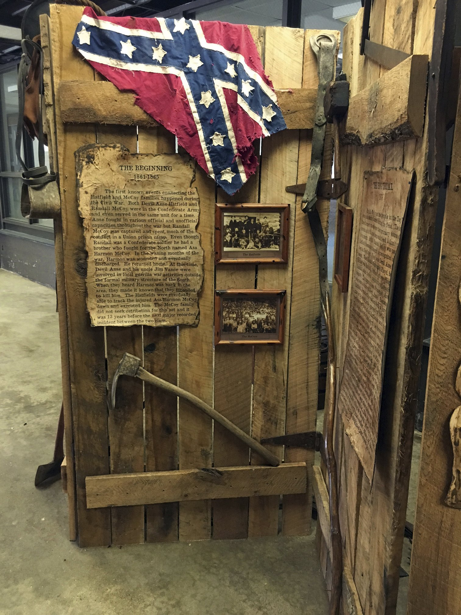 Museum Showcases Relics From Hatfield U0026 McCoy Feud