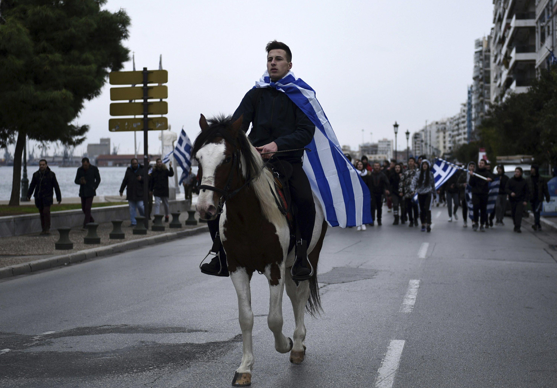 Greek high school unrest amid fears of far-right resurgence