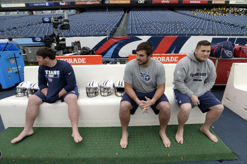 Ben Jones, Jack Conklin, Brian Schwenke