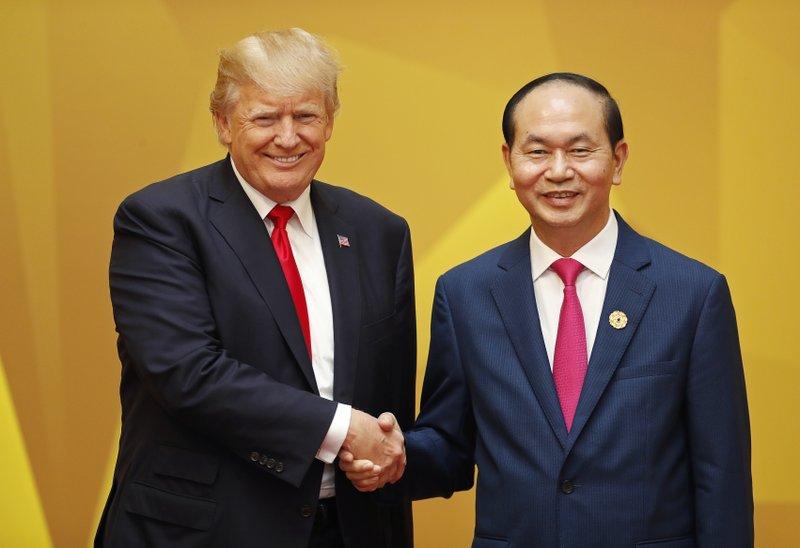 Tran Dai Quang, Donald Trump
