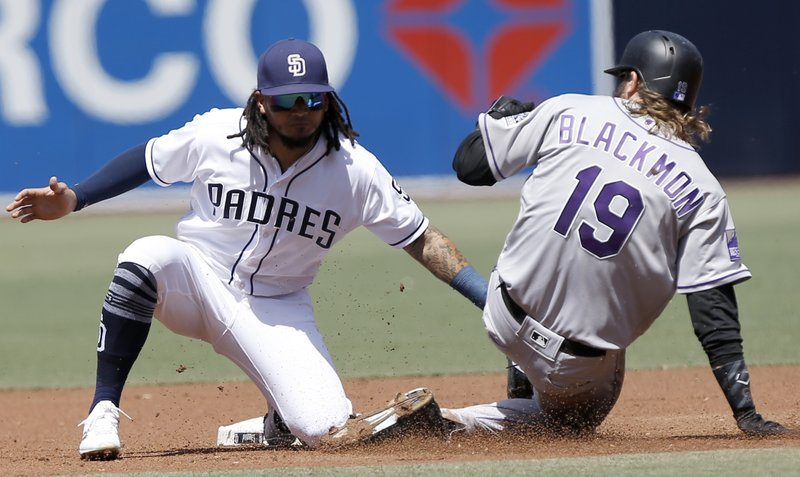 Freddy Galvis, Charlie Blackmon