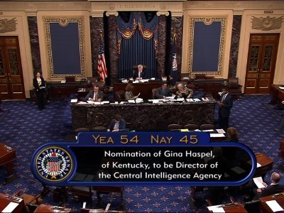 Senate Confirms Gina Haspel to Lead CIA