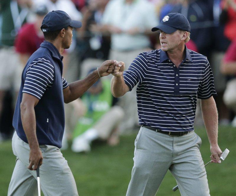 Tiger Woods, Steve Stricker
