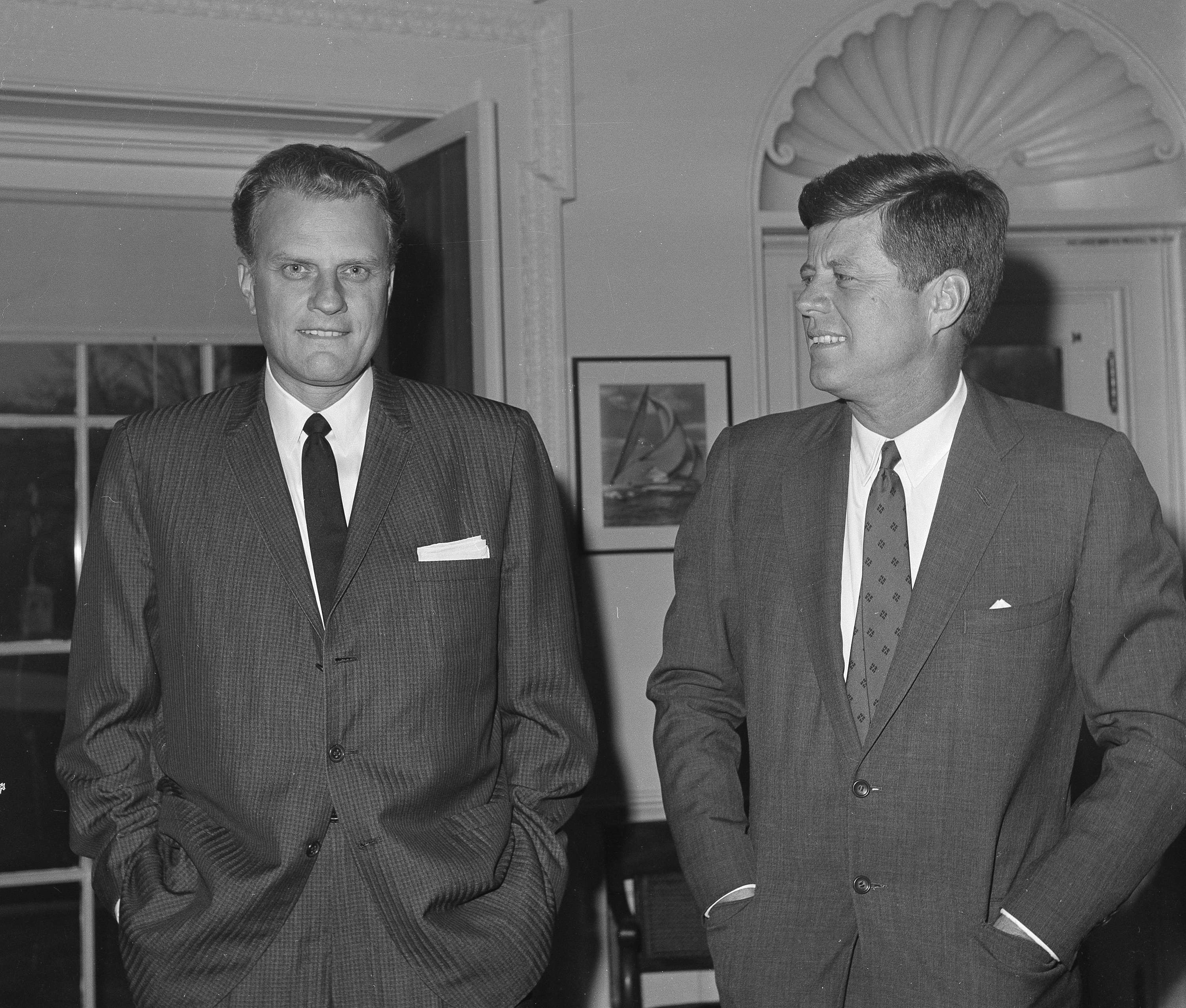 Billy Graham gave more than prayer to presidents