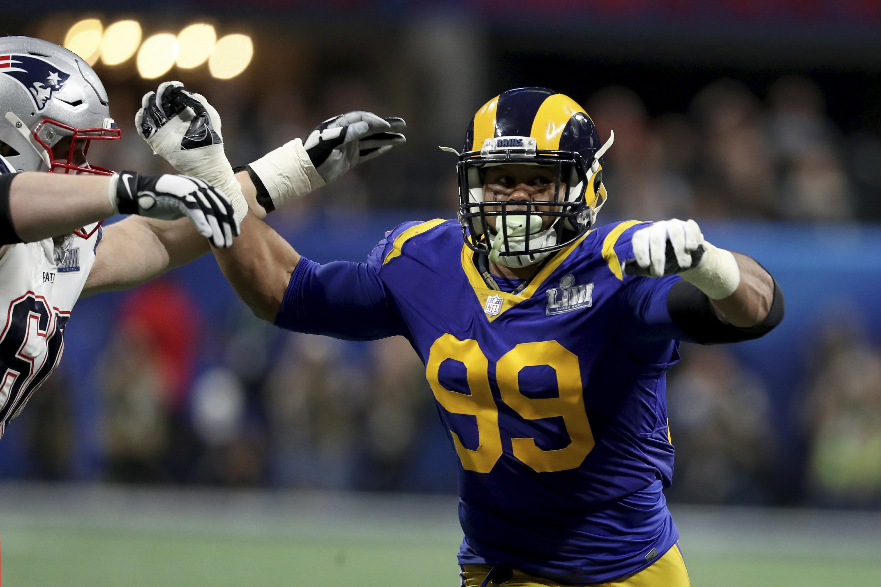 low cost 2a89a 56f92 Staying sharp: Sack artist Donald fueled by Super Bowl loss