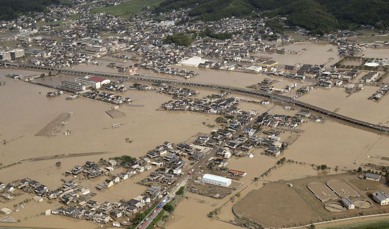 Deadly month: Japan's weather-related deaths top 300 in July