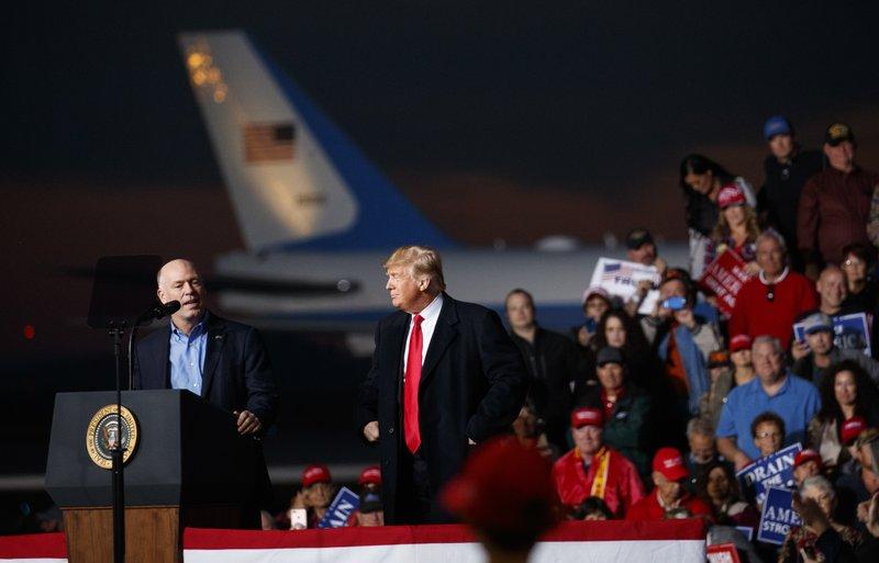 Greg Gianforte, Donald Trump