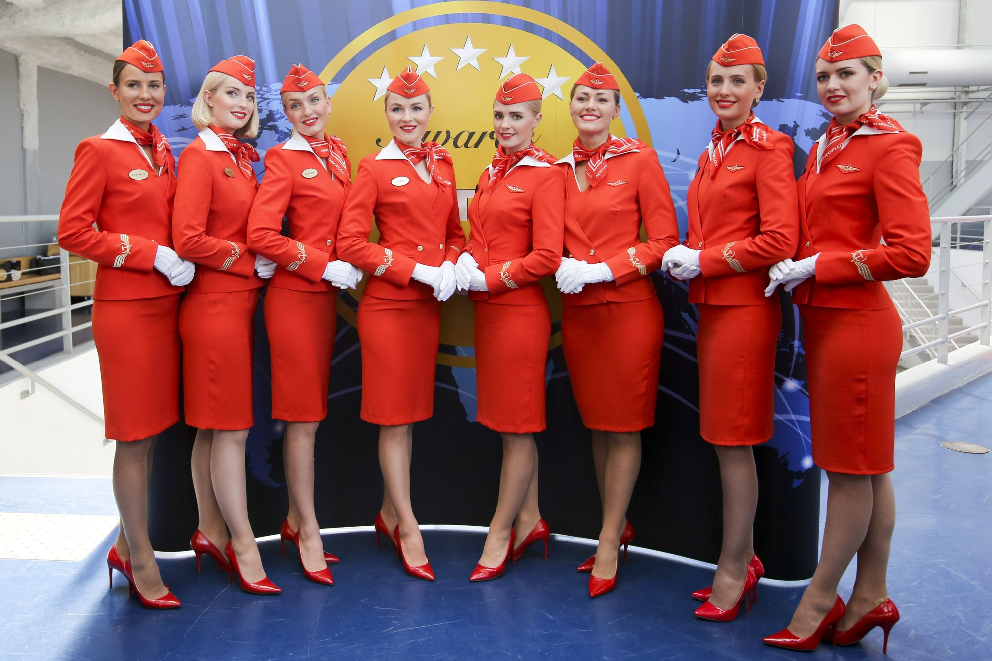 A Very Special Hostess Porn russian flight attendant sues airline for discrimination