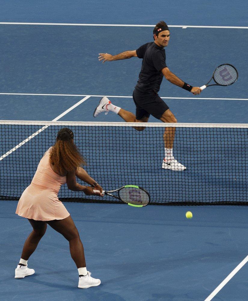 Roger Federer, Serena Williams