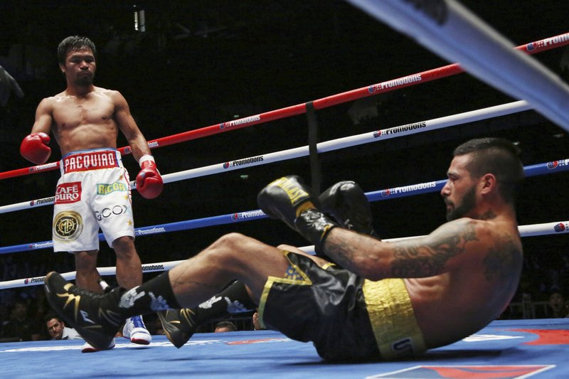 Manny Pacquiao, Lucas Matthysse