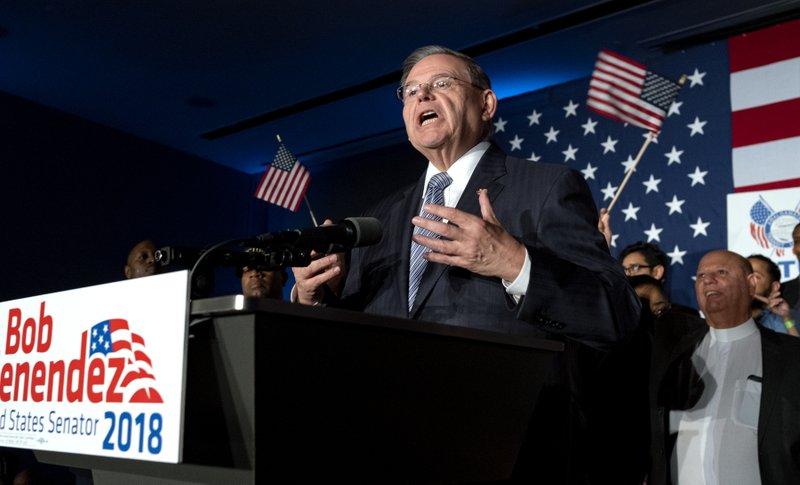 The Latest: Menendez wins, Dems flip 3 US House seats in NJ