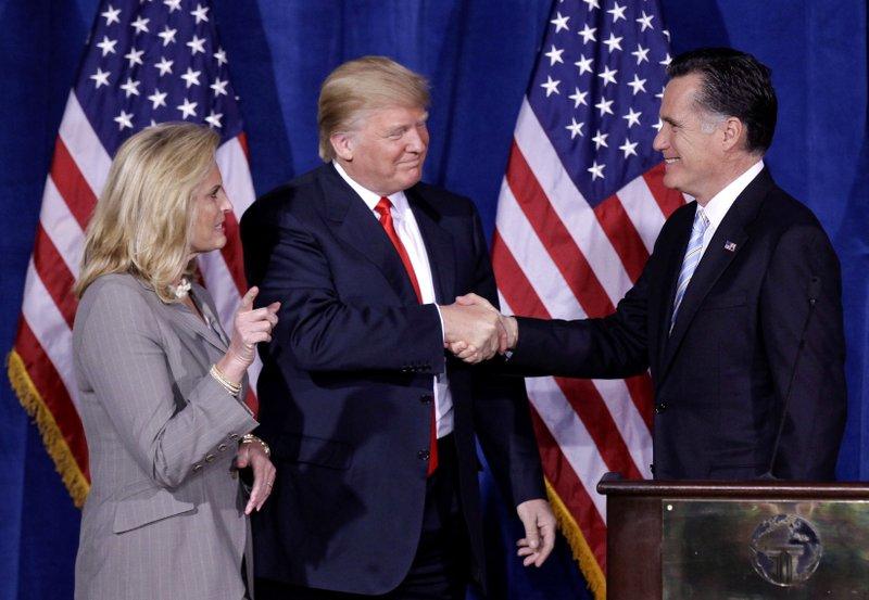 Mitt Romney, Donald Trump, Ann Romney