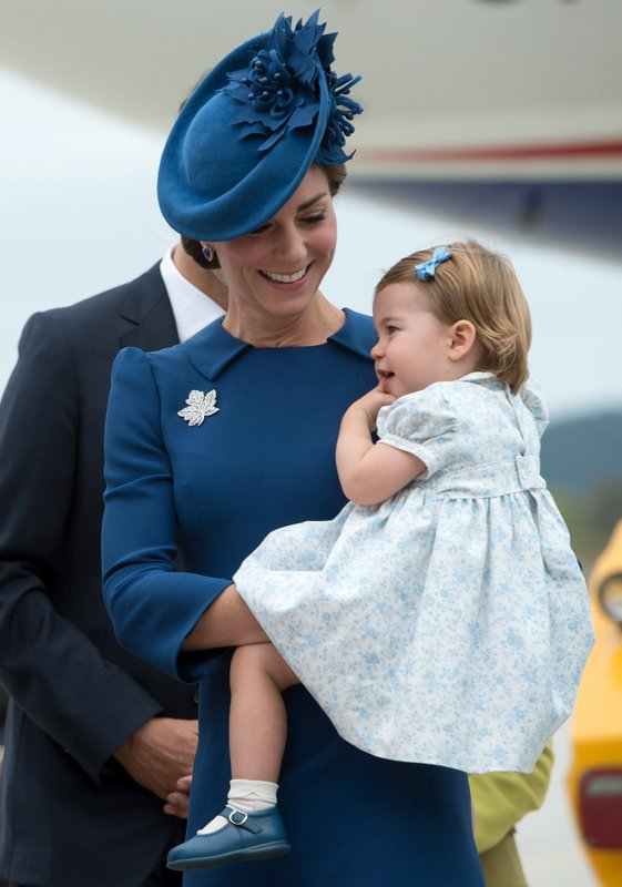 Duchess of Cambridge, Princess Charlotte