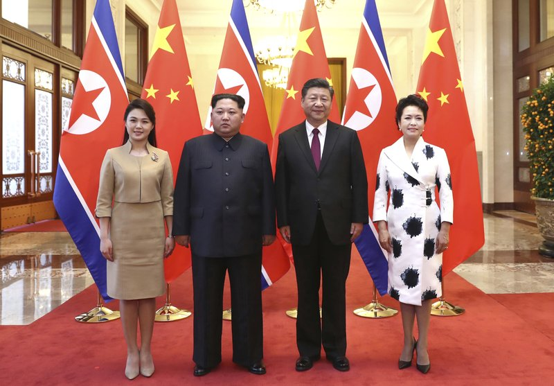 Image result for Xi Jinping visits N Korea to boost China's ties with Kim