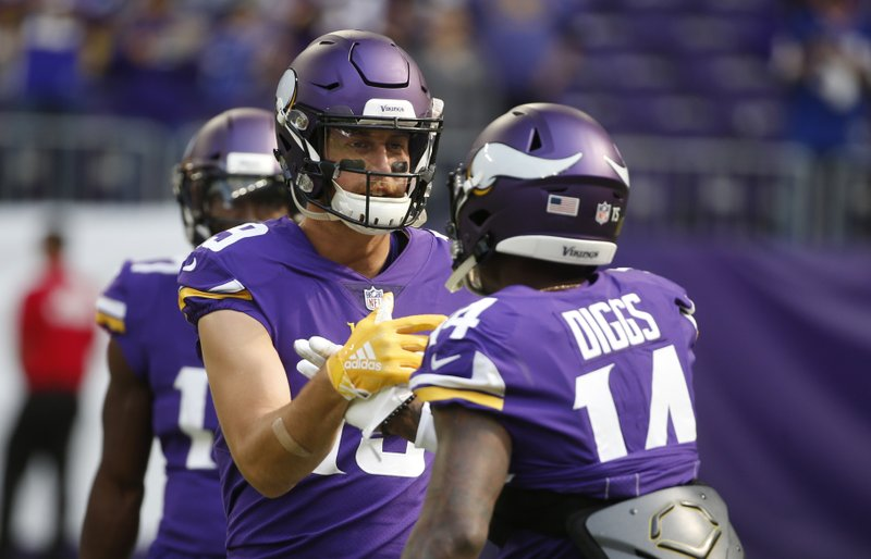 info for 61958 7f343 Thielen, Diggs have helped Vikings stay on track