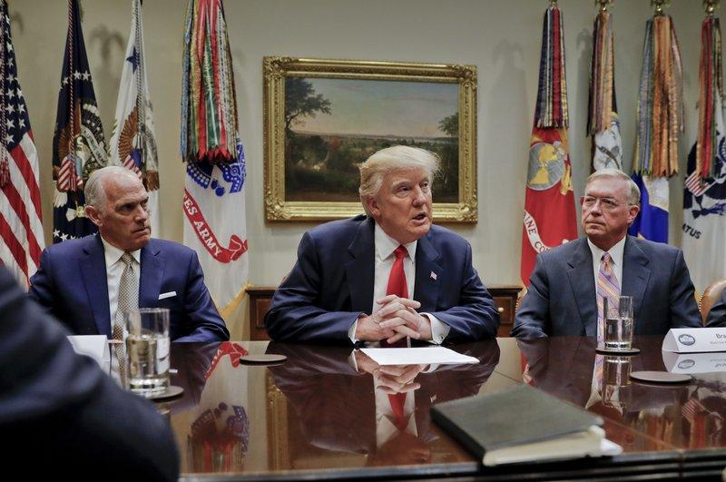 Donald Trump, Daniel J. Hilferty, Brad Wilson