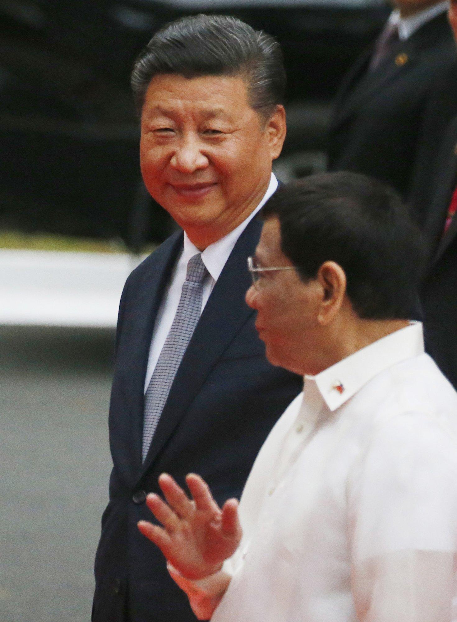 Xi Jinping, Rodrigo Duterte