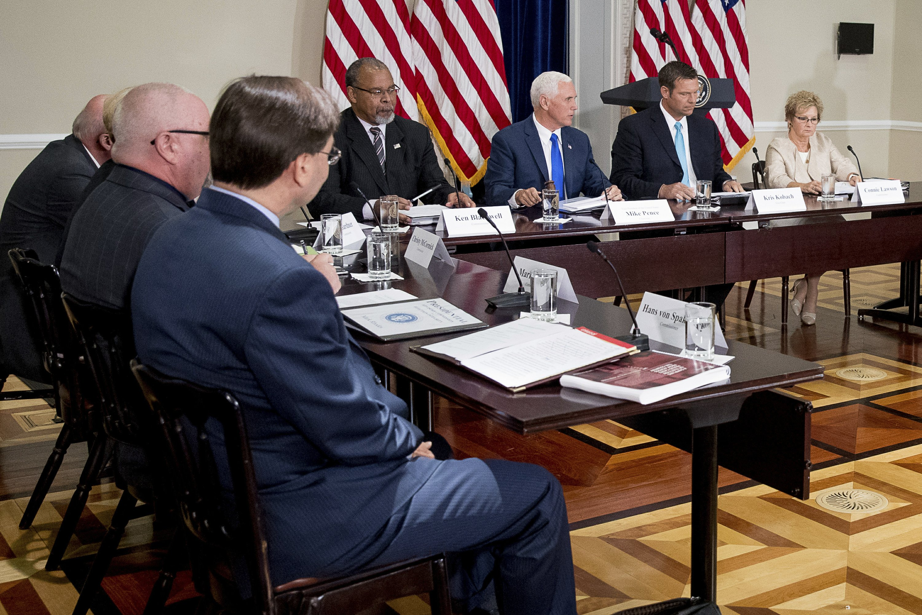 Trump says he wants voter fraud commission to have open mind