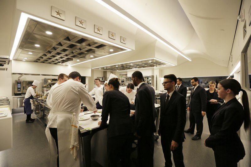 Restaurant Kitchen Pass thomas keller shows off his sleek new french laundry remodel