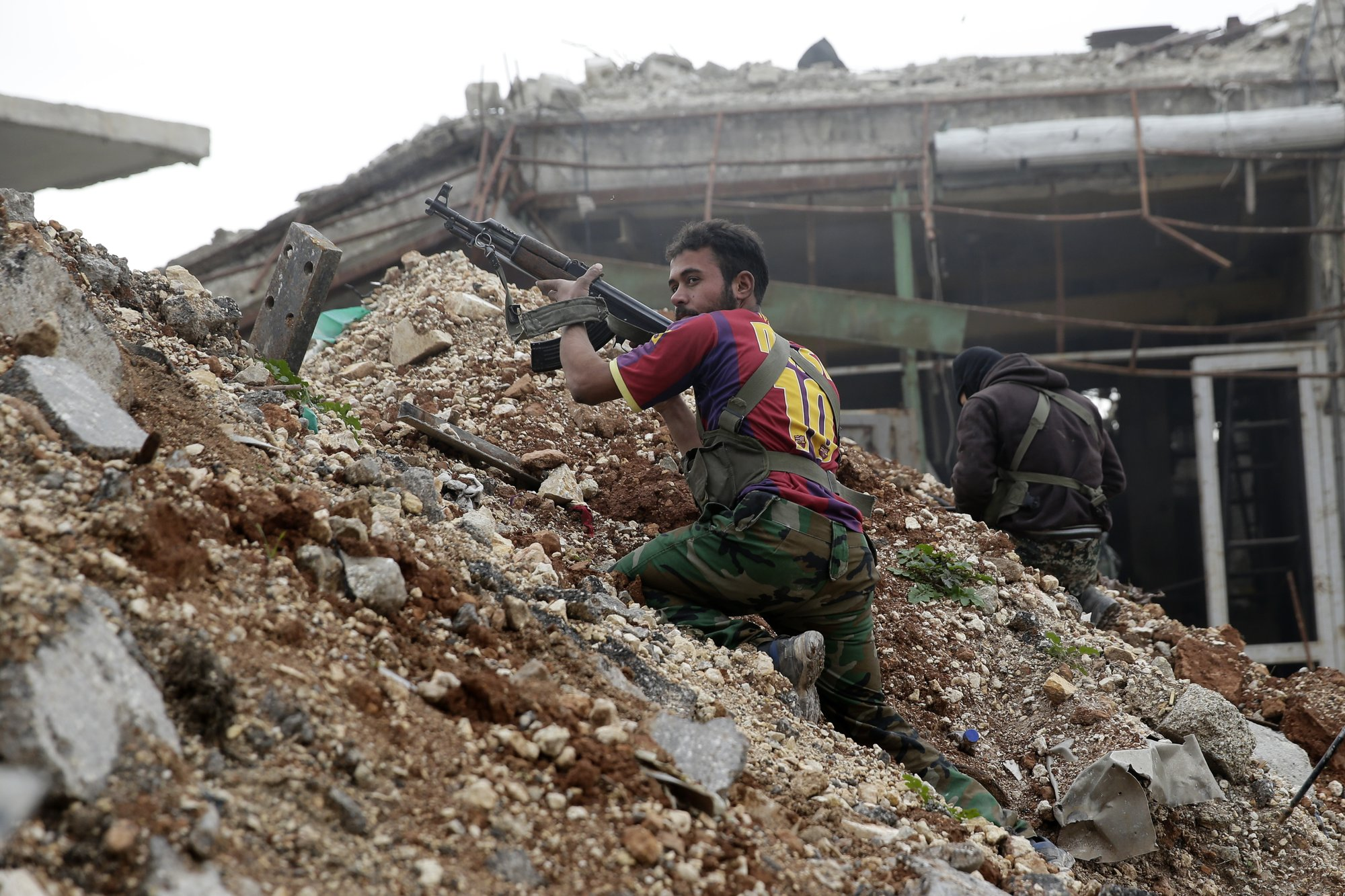 The Latest: Syria claims 99 percent control of Aleppo