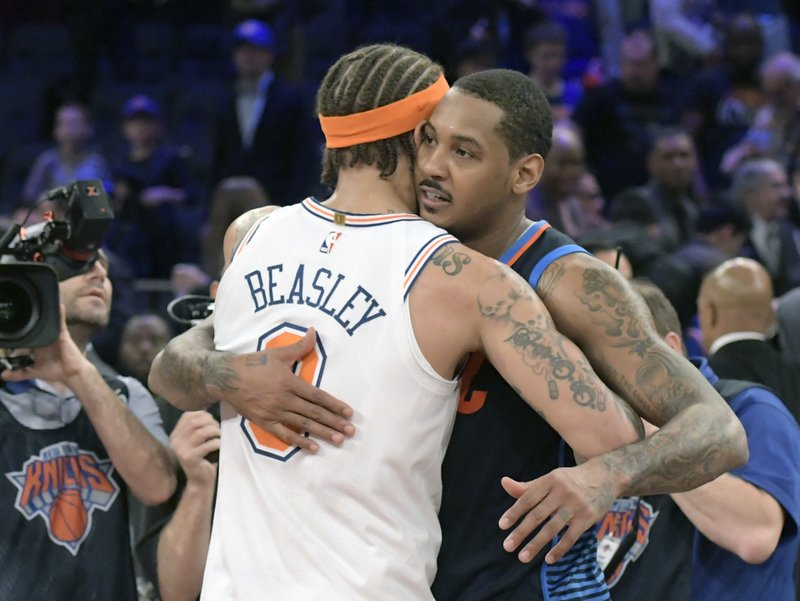 Carmelo Anthony, Michael Beasley