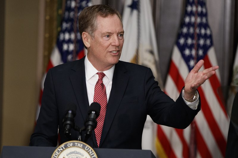 Donald Trump, Robert Lighthizer