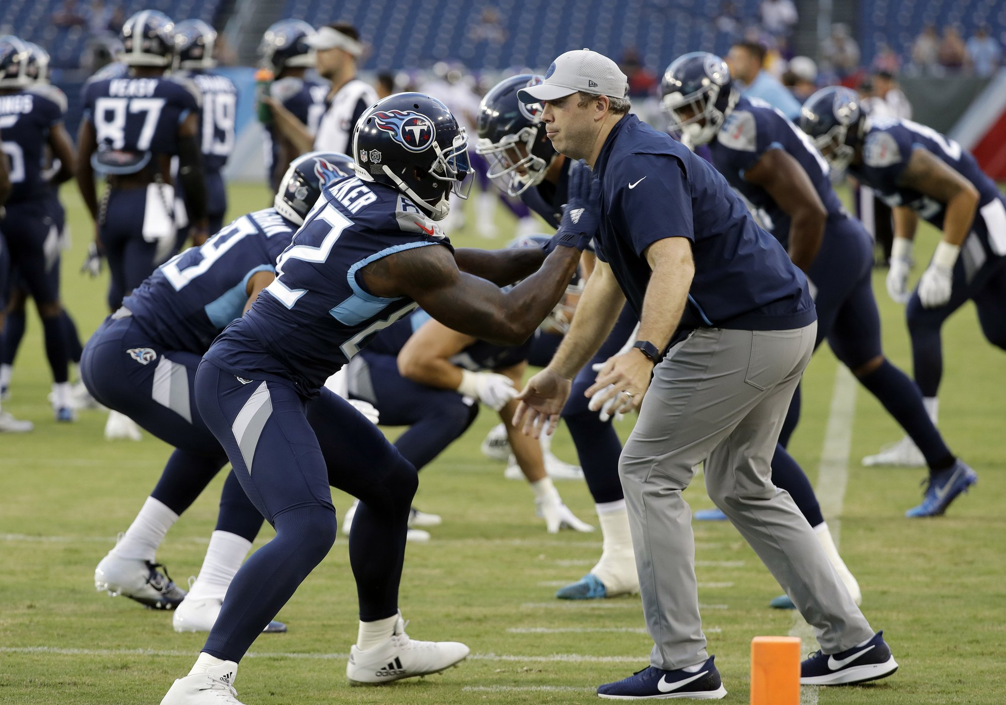 Titans promote tight ends assistant to offensive coordinator