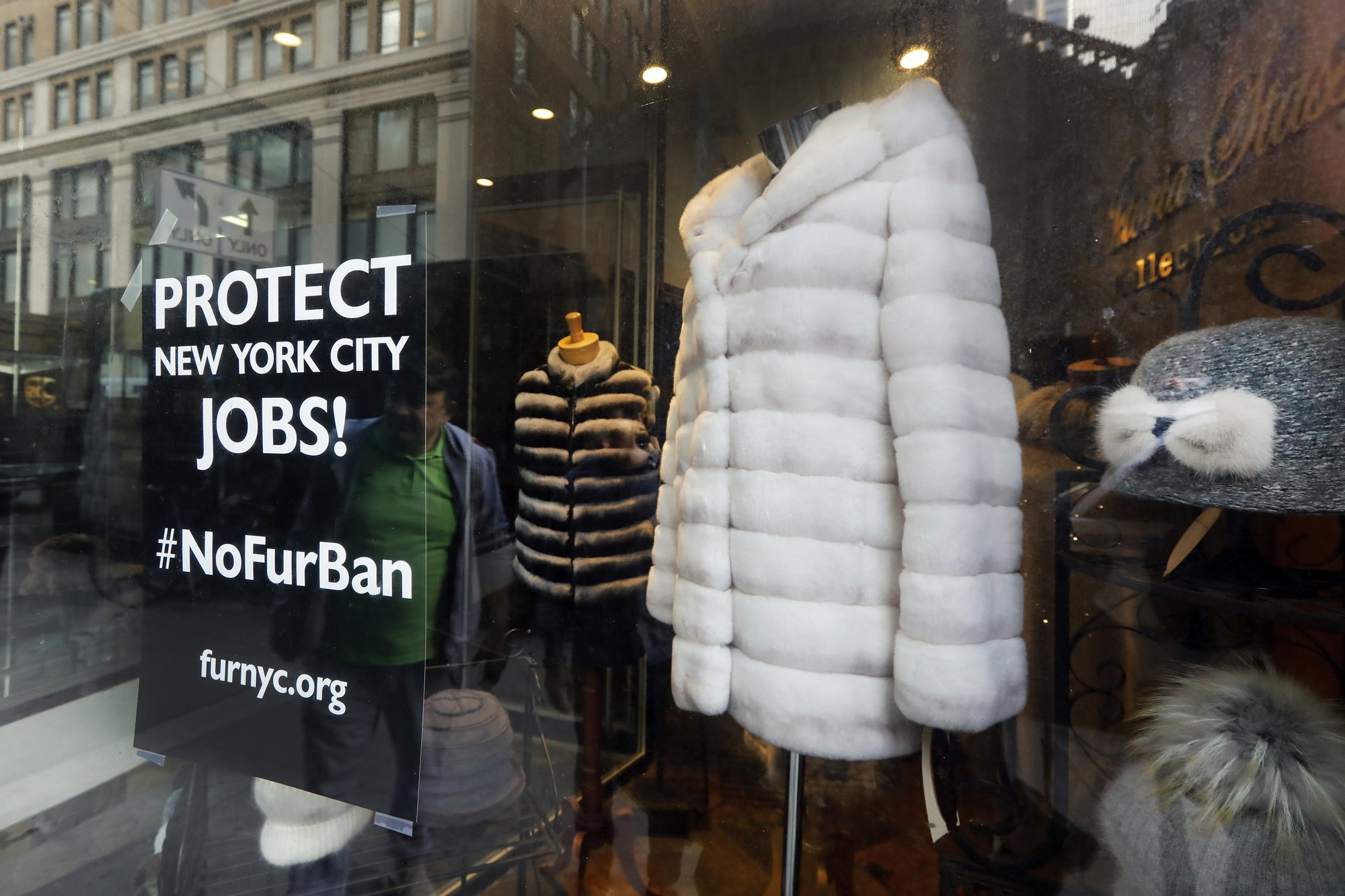 Fashion capital New York considers banning sale of fur