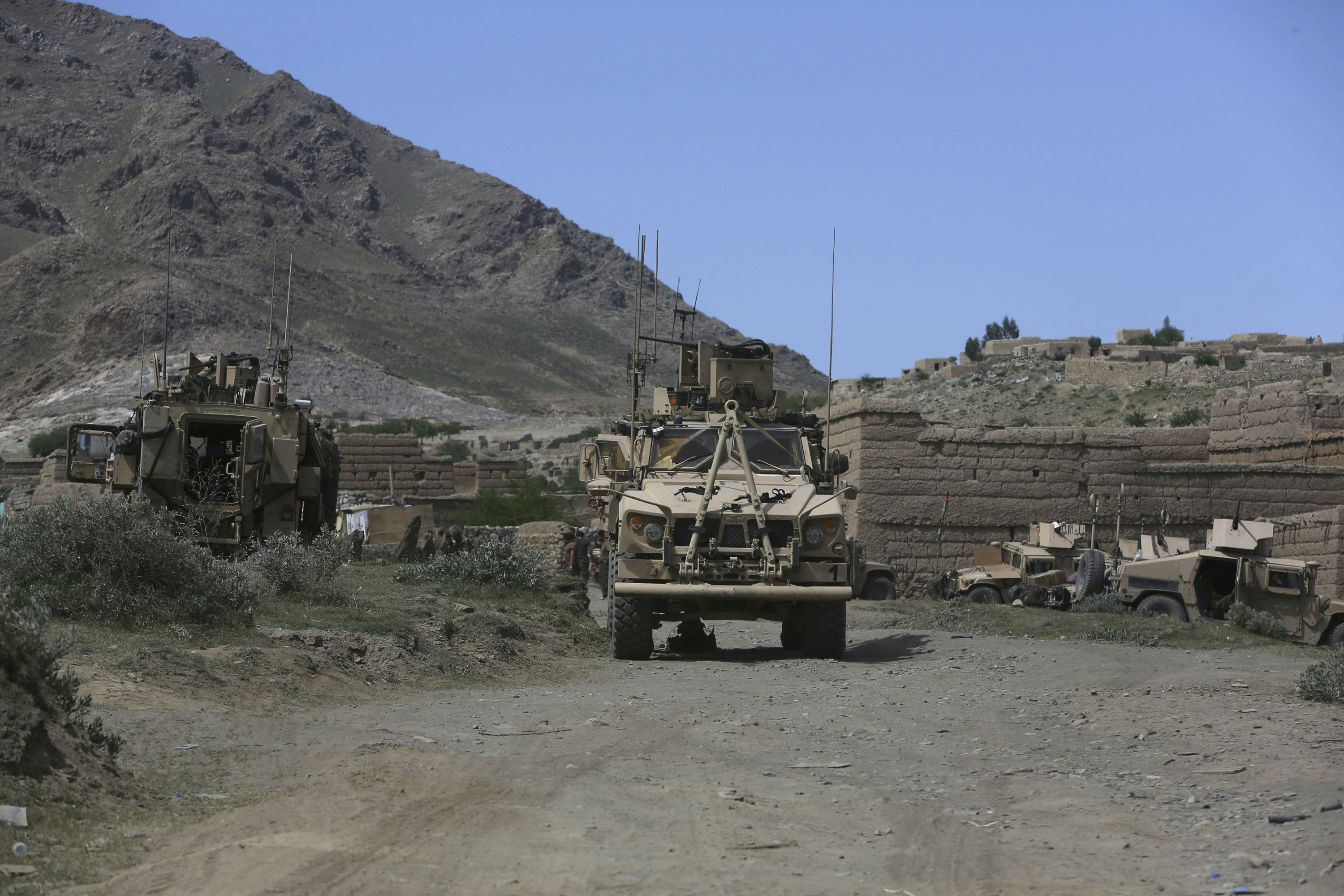 Afghan official: Massive US bomb death toll rises to 94