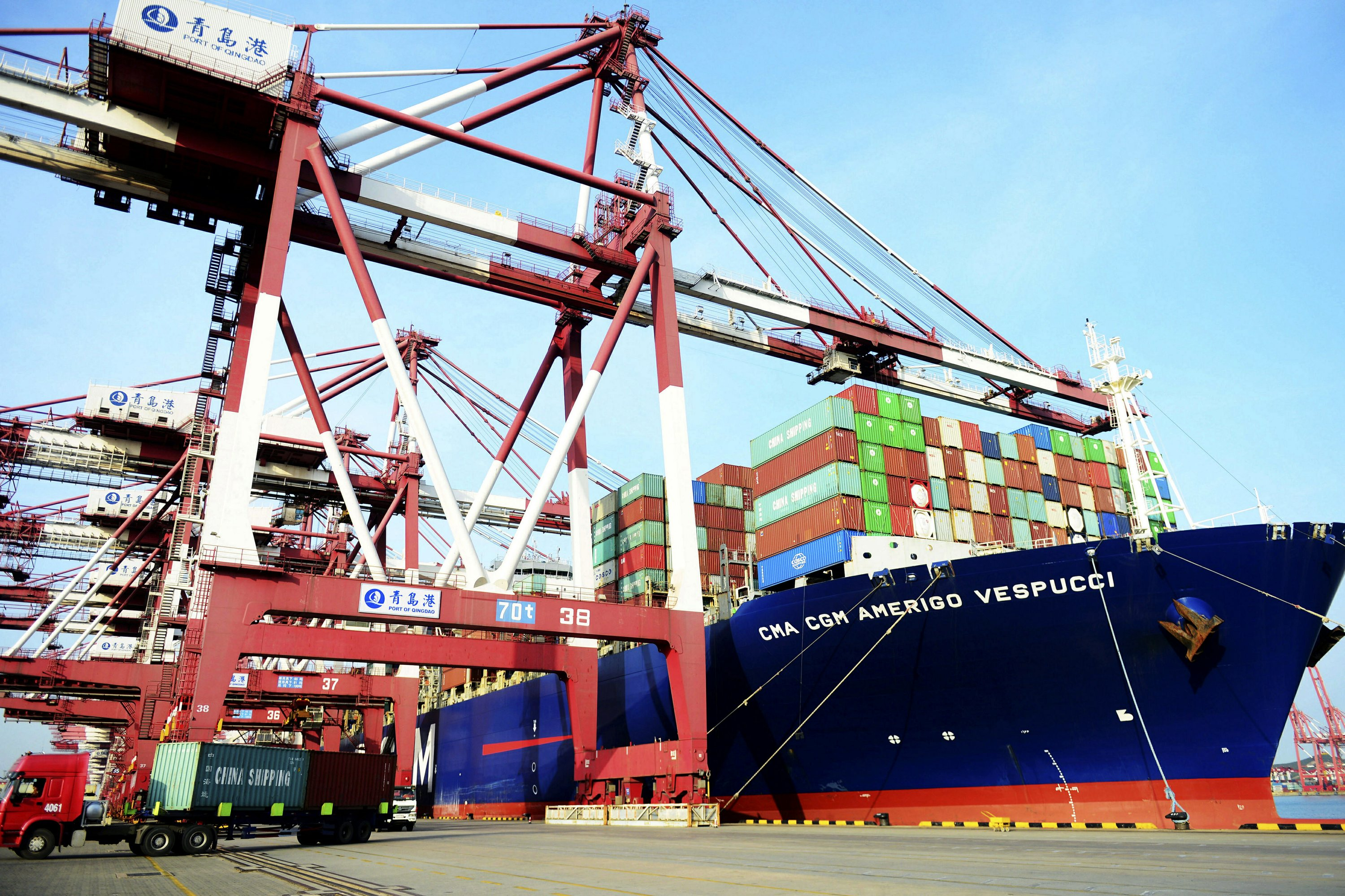 China trade surplus with US swells to record high images