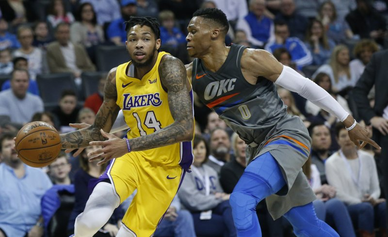 Brandon Ingram, Russell Westbrook