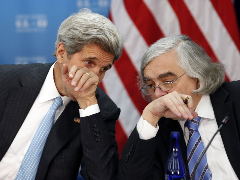 John Kerry, Ernest Moniz