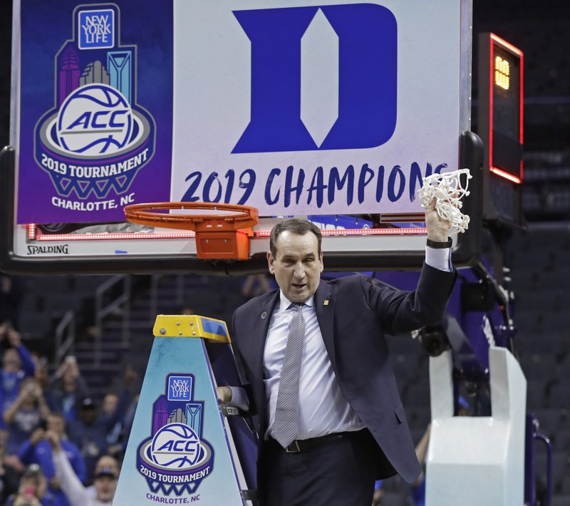 info for 78294 f6d94 Duke back on top  ACC sits 1-2-3 atop final AP Top 25